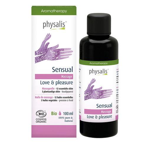 Physalis Massageolie Sensual 100ml