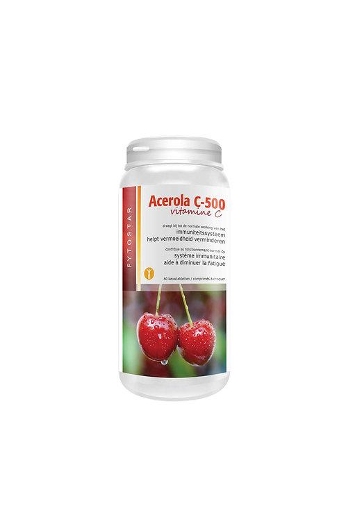 Acerola 500 Vitamine C 60 tab
