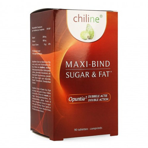 MAXI-BIND Sugar & Fat 90 tab