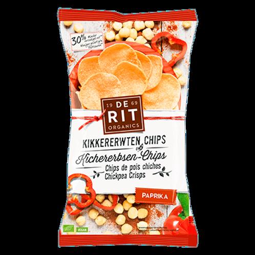 De Rit Kikkererwtenchips paprika 75g