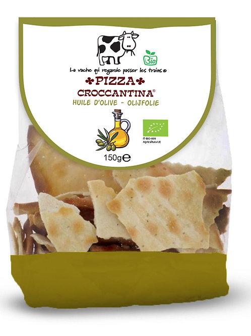 LAVACH Bio Pizza Croccantina met olijfolie 150 g