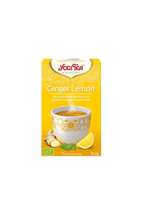 Yogi thee Ginger lemon bio