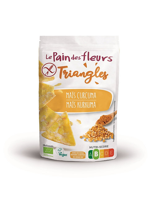 LPDF Maïs-curcuma triangles 50g