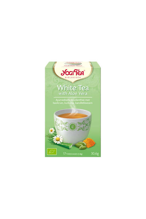 Yogi thee White tea with aloe vera bio