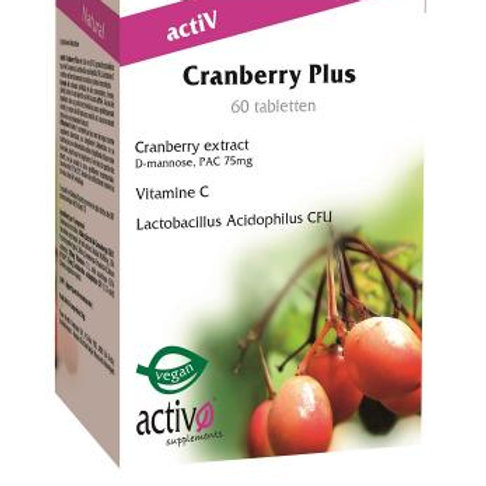 Activo Cranberry plus 60 tabl