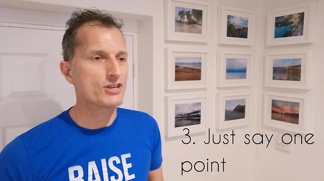 Raising the Bar One-Minute Top Tips Phot