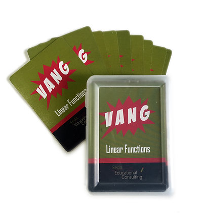 The VANG Game: Linear Functions (Age 14+)