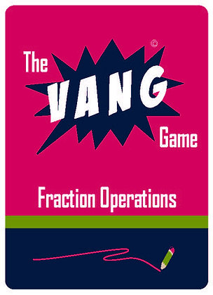 The VANG Game: Fraction Operations