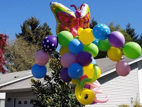 Social Distancing Can't Pop my Balloon Fun