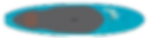 Teal YOLO Paddleboard
