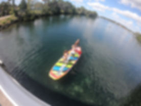 Party paddle board in kings bay