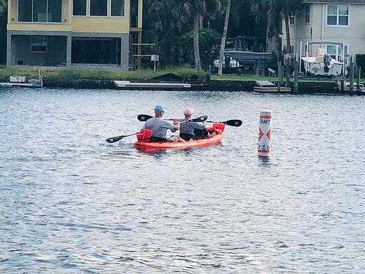 Tandem Kayak Rental in Crystal River, FL