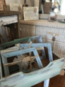 Distressed Coastal Picture Frames