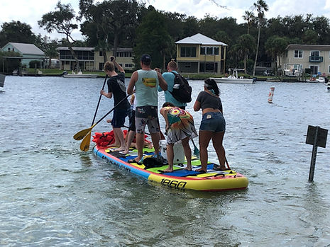 Party Paddle Board Rental at Paddles Outdoor Rentals