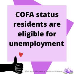 COFA & Unemployment