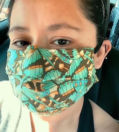 Feminine Pattern Masks
