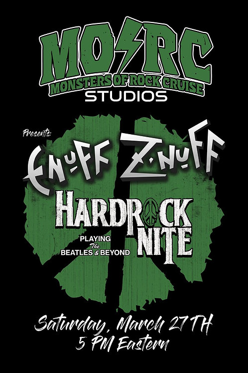 Enuff Z'Nuff - Signed Event Poster