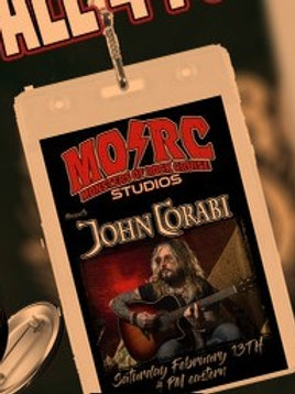 John Corabi - Tour Pass