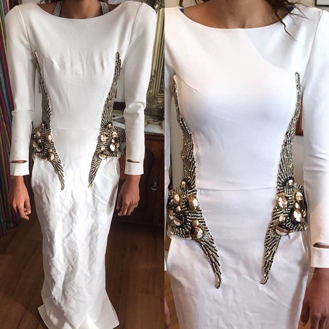 Before And After Wedding Dress Alteration