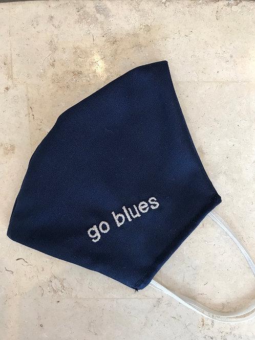 Go Blues Mask