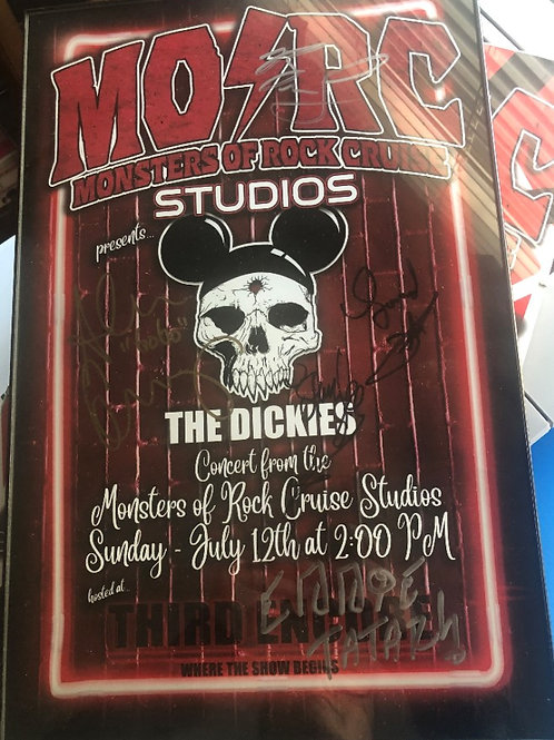 The Dickies - Signed Poster