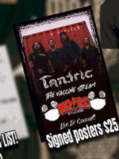 Tantric - Signed Poster
