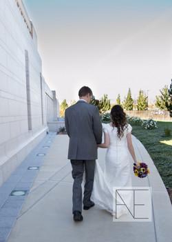 temple wedding photography Utah