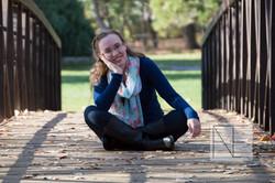 senior photography bridge