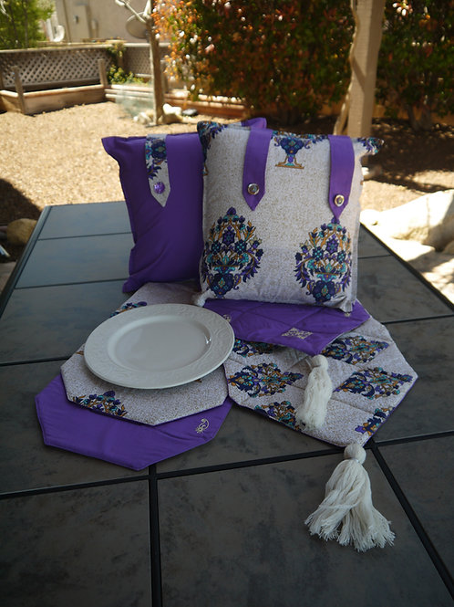 Table and Pillow Set