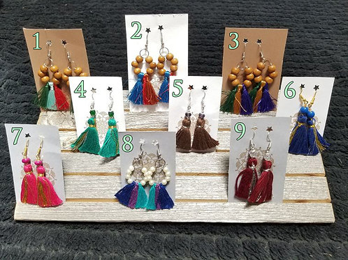 Unique Tassel Earrings