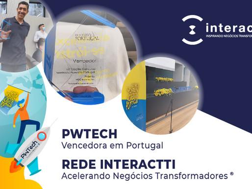 Startup acelerada em nosso Programa é Vencedora em Portugal