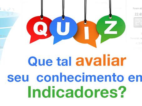 Um Quiz sobre Indicadores com Dicas