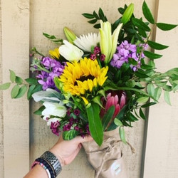Hand Tied Bouquet $50