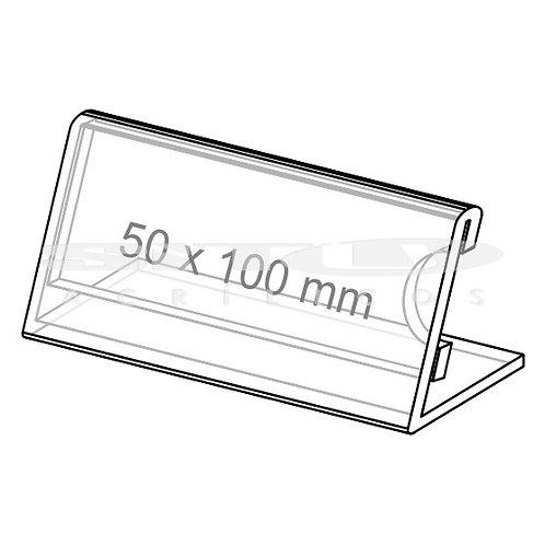 Display L - Tam.: 50 x 100 mm - Com fundo