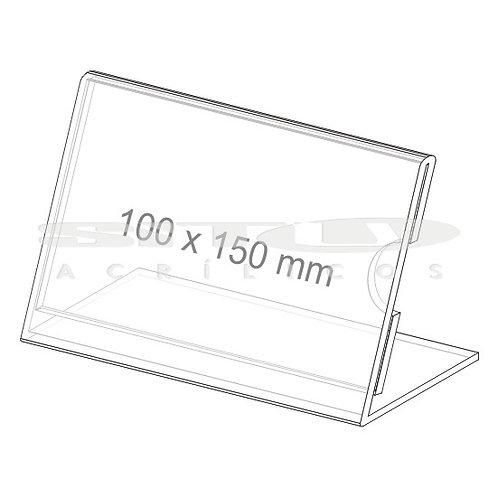 Display L - Tam.: 100 x 150 mm - Com fundo