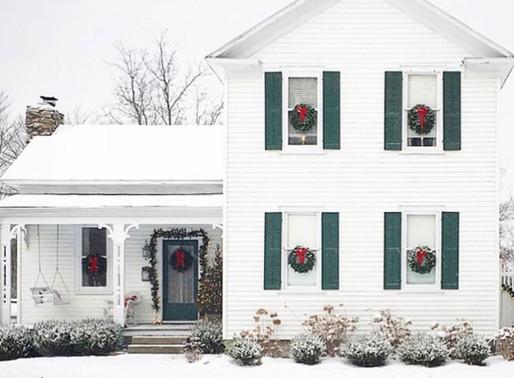 Home Tour: Christmas in historic 1867 farmhouse