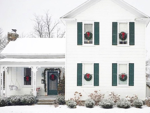 Home Tour: Christmas in historic 1867 farmhouse