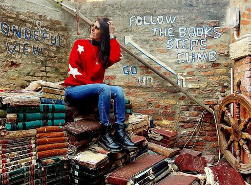 Journal: finalmente abbiamo visto la libreria Acqua Alta!