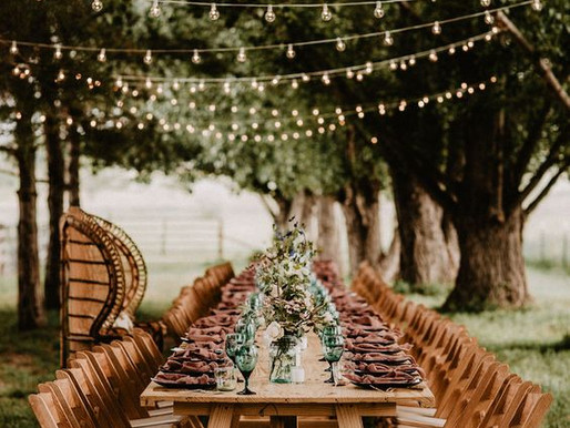 Inspiration Board: a rustic wedding in a farm.