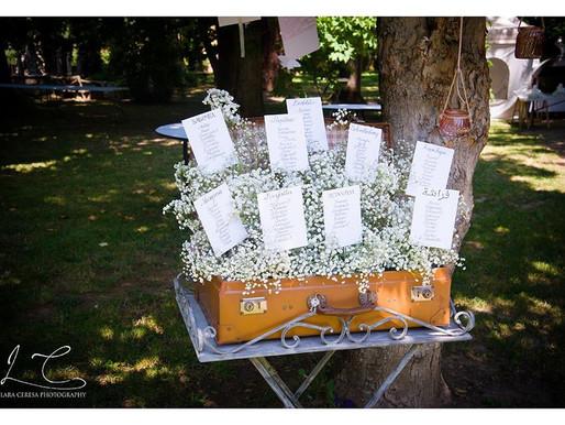 Inspiration Board: un tableau de mariage romantico.