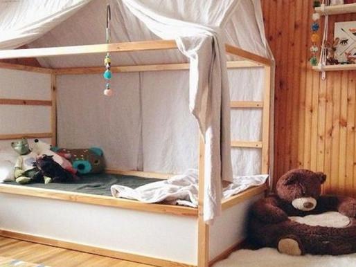Home Decor: Ikea Kura Bed