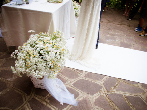 My Work: A White Charming Wedding