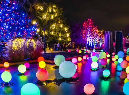 Lifestyle: A Christmas Light Displays Across America