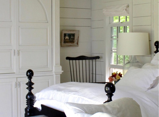 Home Decor: bright and cosy bedroom.