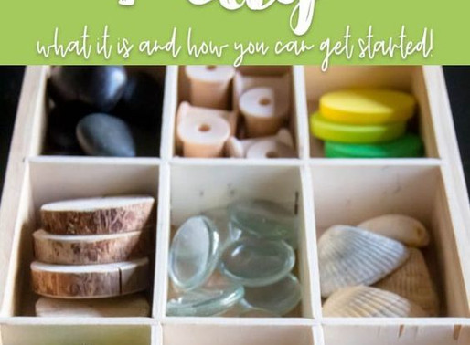 "Learn & Play: il gioco destrutturato o ""loose parts"""