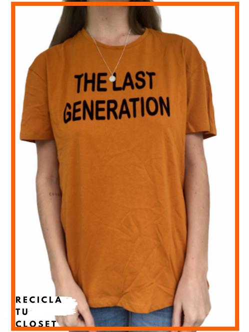 Polera ¨The last generation¨