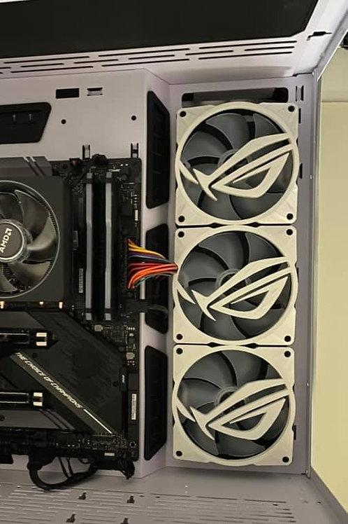 120mm case fan shroud ASUS ROG STRIX