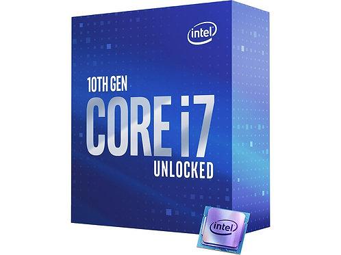 Intel Core i7-10700K Comet Lake 8-Core 3.8 GHz LGA 1200 125W Desktop Processor w