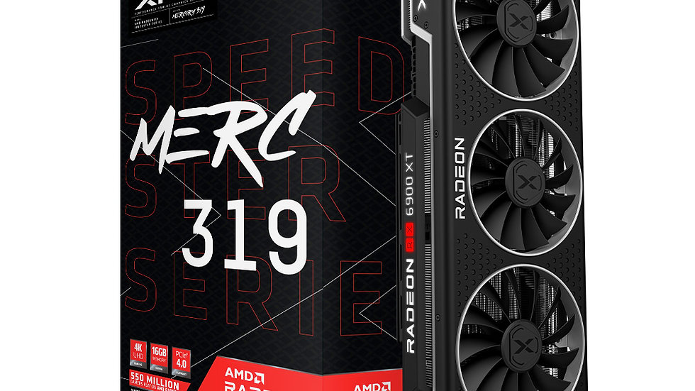 XFX Speedster MERC 319 AMD Radeon™ RX 6900 XT Ultra Gaming Graphics Card with 16