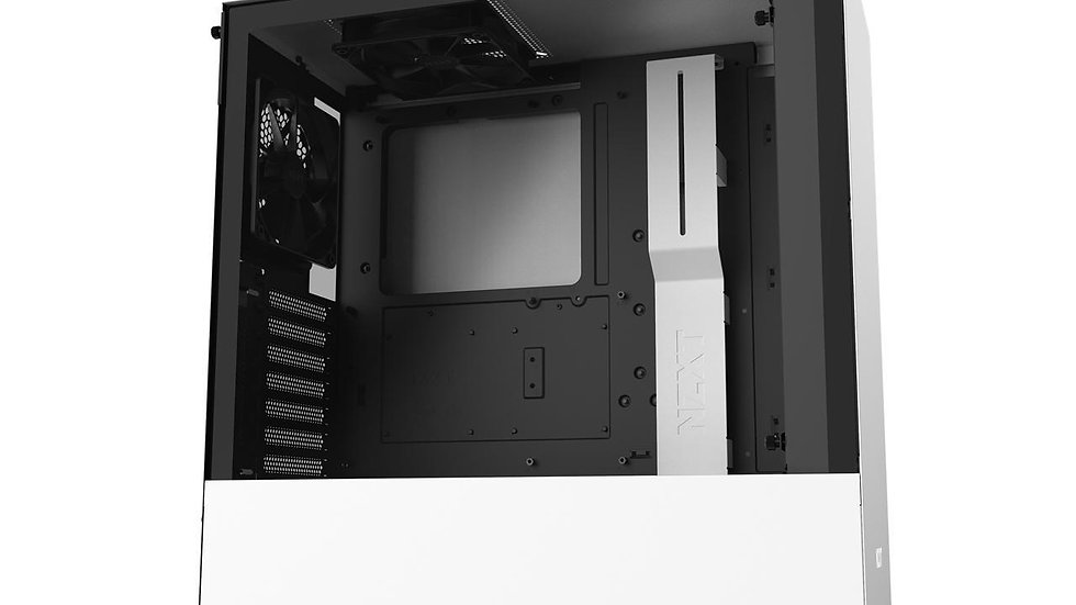 NZXT H510 - Compact ATX Mid-Tower PC Gaming Case - Front I/O USB Type-C Port - T